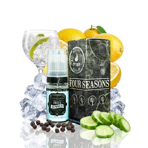 10 ml Drops Four Seasons - Ibiza Summer 6 mg/ml