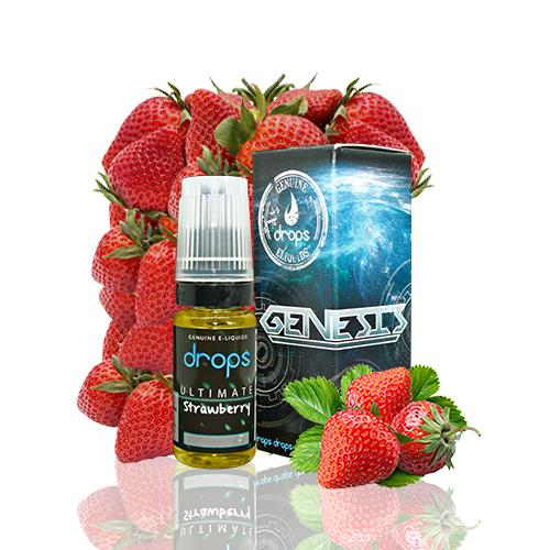 10 ml Drops Genesis - Ultimate Strawberry 6 mg/ml