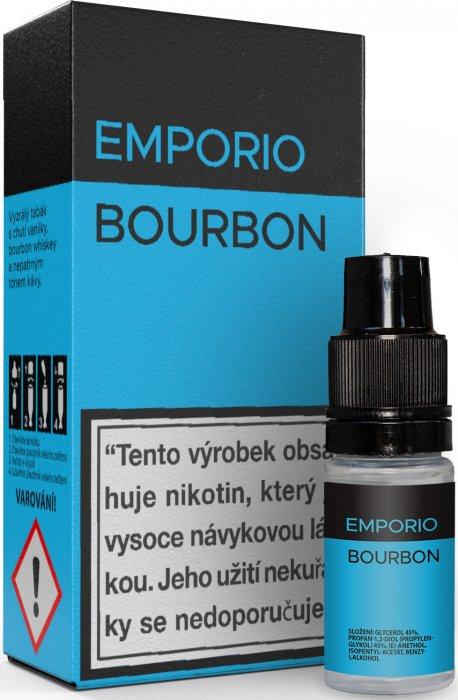 10 ml Emporio - Bourbon 12 mg/ml