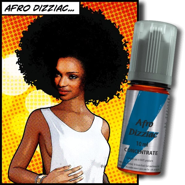 10 ml T-Juice Afro Dizziac