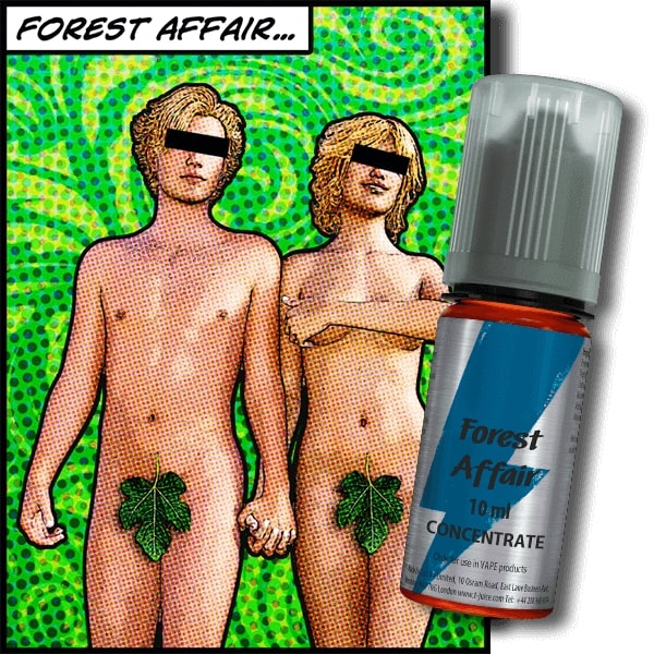 10 ml T-Juice Forest Affair