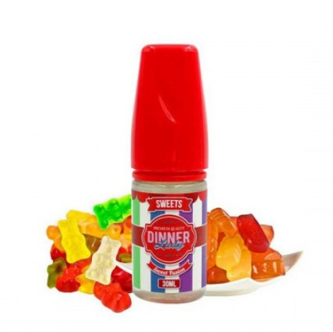 30 ml Dinner Lady - Sweets Sweet Fusion - SLEVA
