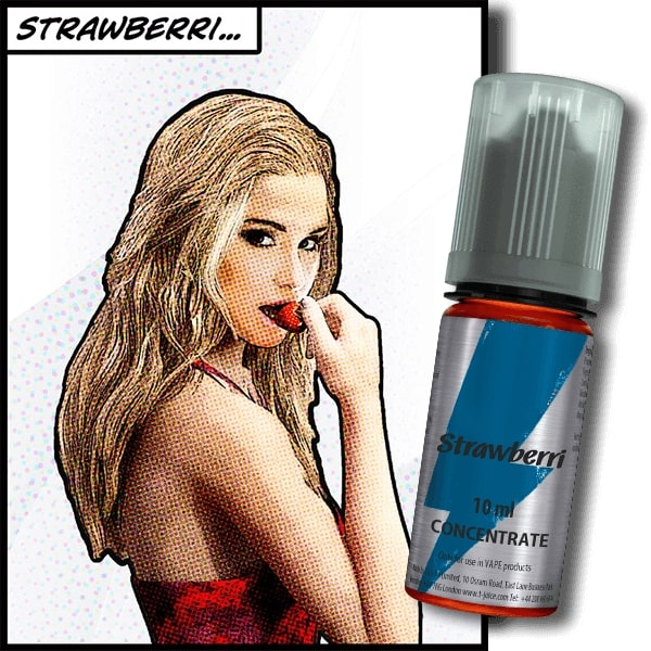 10 ml T-Juice Strawberri