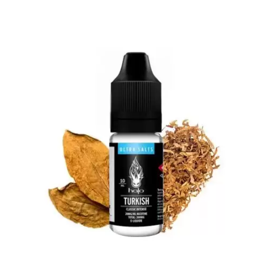 10 ml Halo Turkish Tobacco Ultra Salts 20 mg/ml