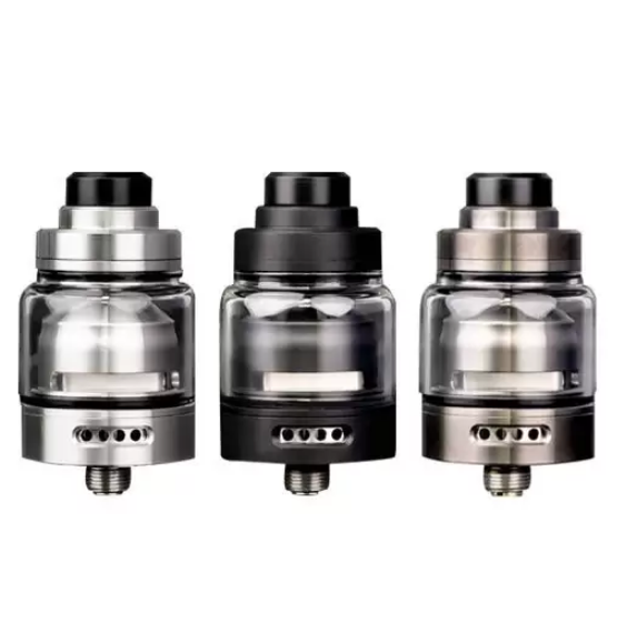 Vaping Bogan and Suicide Mods - Ether RTA 24mm - Brush Stainless Steel