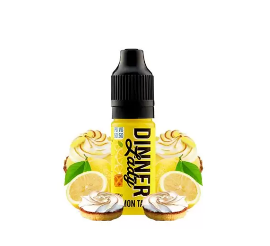10 ml Dinner Lady 50PG/50VG - Lemon Tart 18 mg/ml