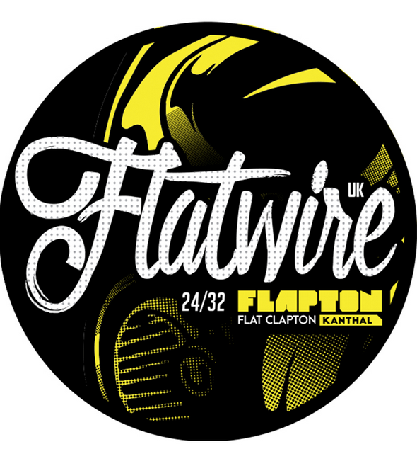 Flatwire Flapton Kanthal 24/32 AWG