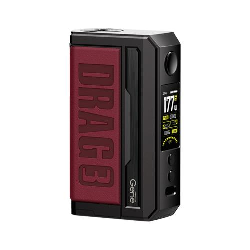 Voopoo Drag 3 177W Box Mod - Marsala Red