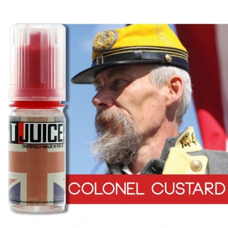 1,5 ml T-Juice Colonel Custard