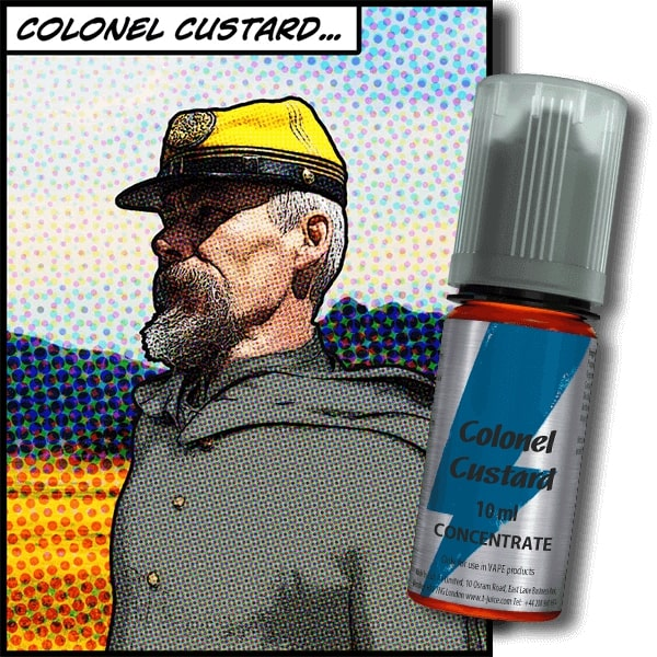 10 ml T-Juice Colonel Custard