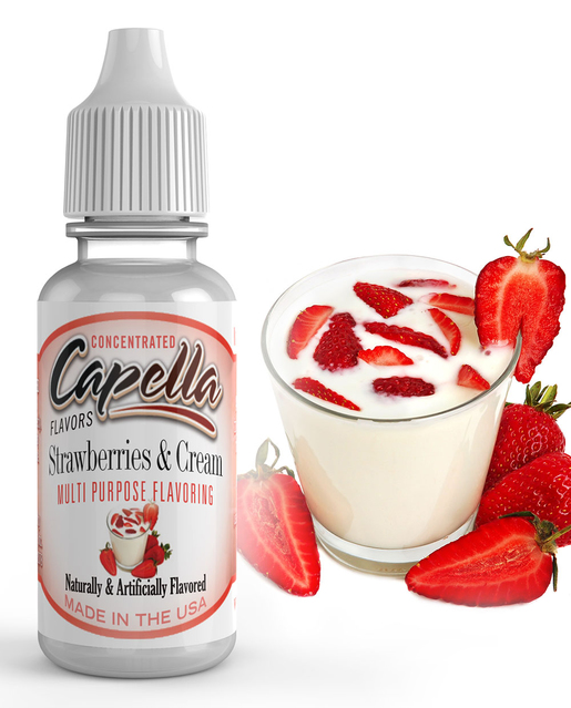 13 ml Capella Strawberries Cream