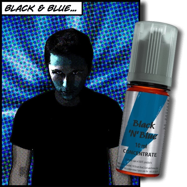 10 ml T-Juice Black 'n' Blue