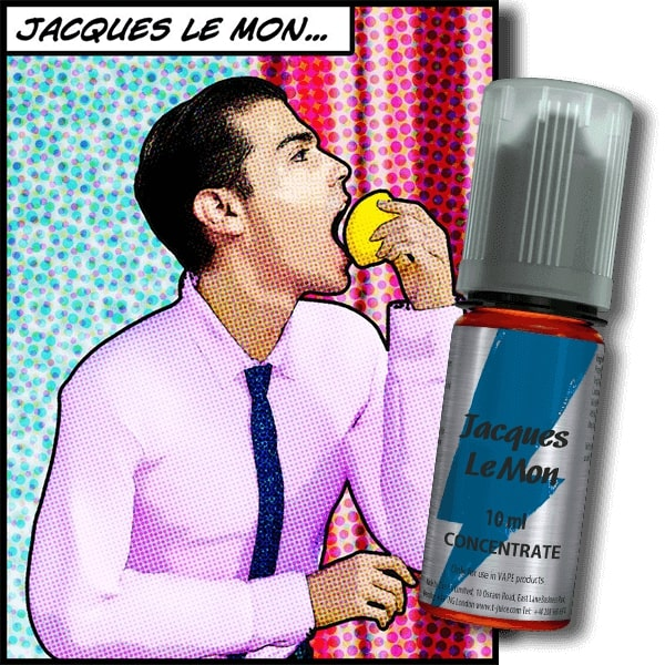 10 ml T-Juice Jacques Le Mon
