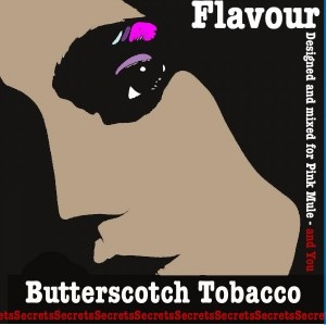 1,5 ml Secrets Flavour Butterscotch Tobak
