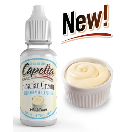1,5 ml Capella Bavarian Cream - SLEVA