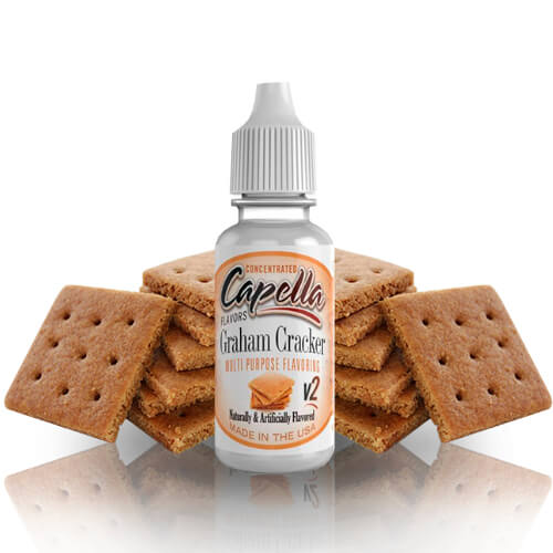 13 ml Capella Graham Cracker V2 - SLEVA