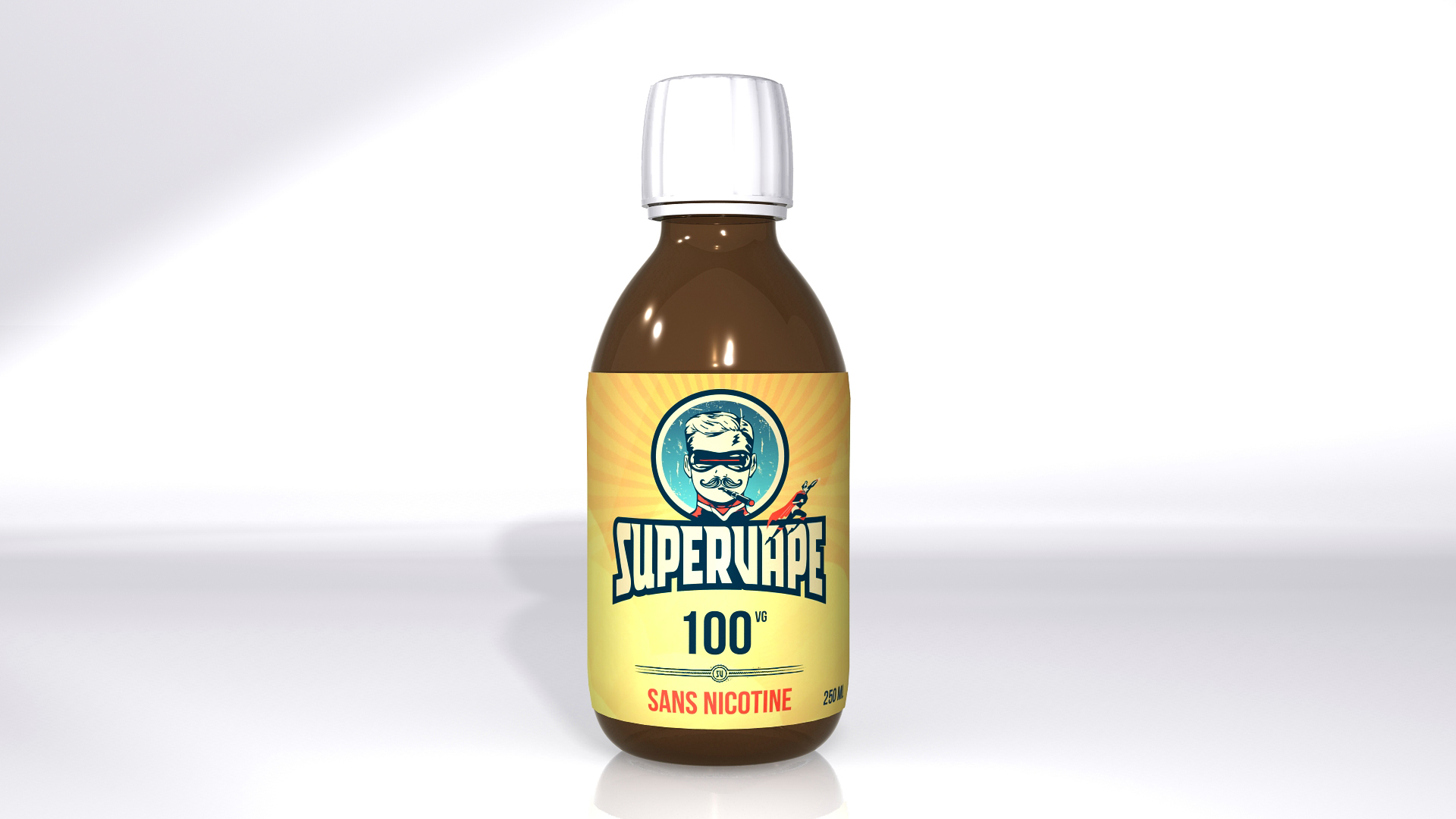 250 ml Supervape VG 0 mg/ml