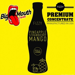 10 ml Big Mouth Pineapple & Strawberry & Mango