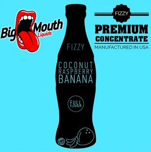 10 ml Big Mouth Coconut & Raspberry & Banana