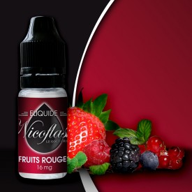 10 ml Nicoflash - Red Fruits 6 mg/ml