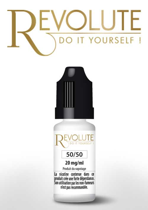 10 ml Revolute Booster 50/50 20 mg/ml