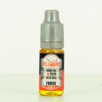 10 ml ELIQUID FRANCE Strawberry 6 mg/ml