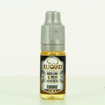 10 ml ELIQUID FRANCE Cookie 6 mg/ml