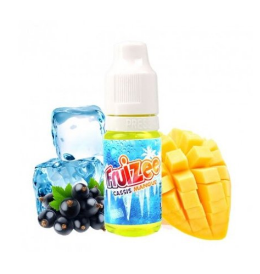10 ml ELIQUID FRANCE Fruizee Blackcurrant Mango 6 mg/ml