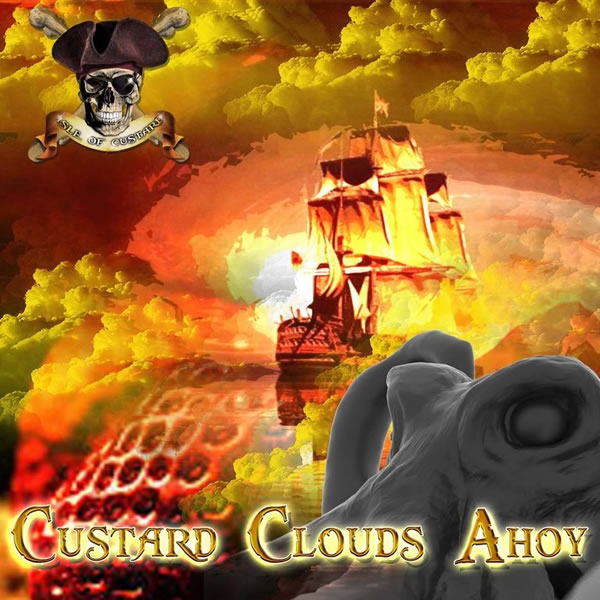 1,5 ml Isle of Custard - Custard Clouds Ahoy