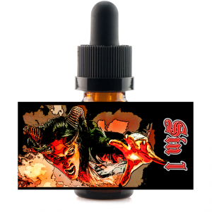 10 ml Sinners Son - Sin 01 - Strawberry/Dragonfruit/Banana atd.