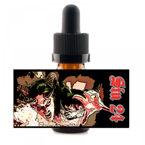 10 ml Sinners Son - Sin 24 - Peach/Strawberry/Watermelon atd.