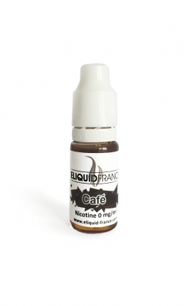 10 ml ELIQUID FRANCE Black coffee 6 mg/ml