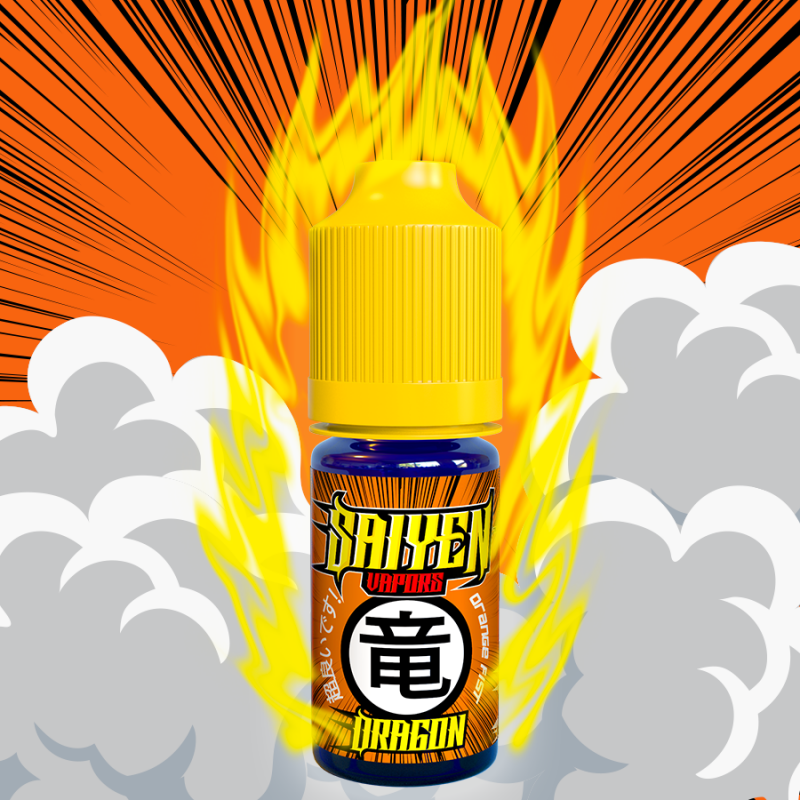 10 ml Saiyen Vapors - Dragon 3 mg/ml