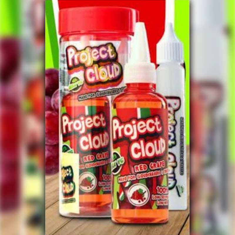 100 ml Project Cloud - Red Grape 0 mg/ml