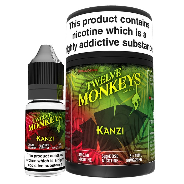 10 ml Twelve Monkeys - Kanzi 3 mg/ml