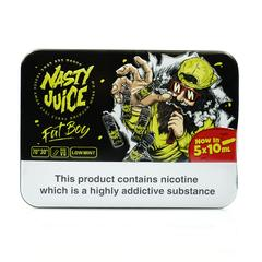 10 ml Nasty Juice - Fat Boy 6 mg/ml