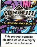 10 ml Godfather Co - Blueberry Cheese Cake 3 mg/ml