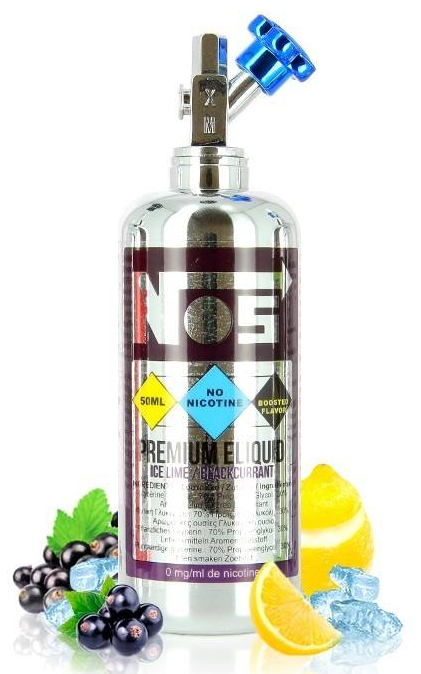 50ml Nos - Ice Lime Blackcurrant (Shake & Vape)