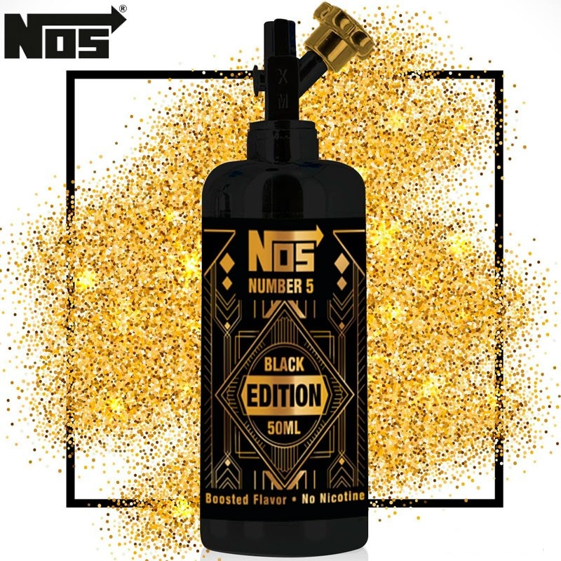 50ml Nos - Black Edition 0 mg/ml