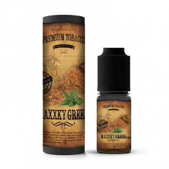 10 ml Premium Tobacco - MaXXky Green