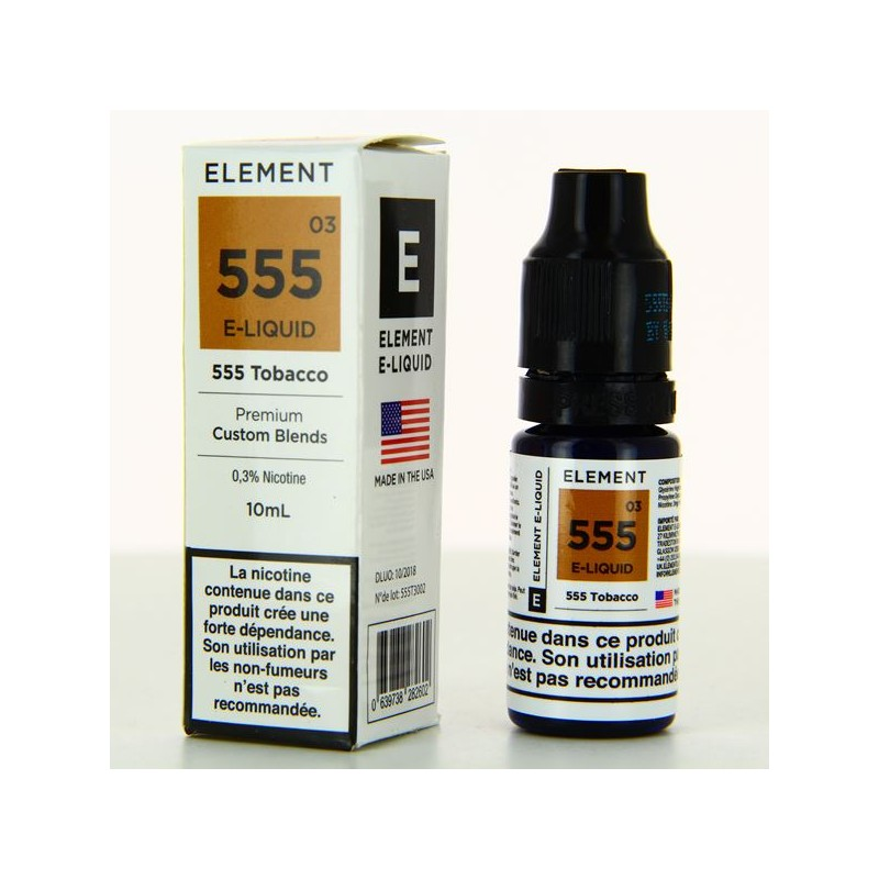 10 ml Element  - Classic 555 3 mg/ml