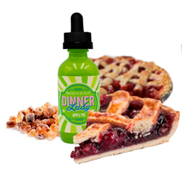 50 ml Dinner Lady - Apple Pie (Shake & Vape)