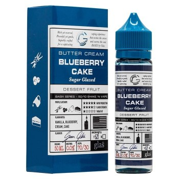 50 ml Glas - Blueberry Cake ZHC Mix Series 0 mg/ml