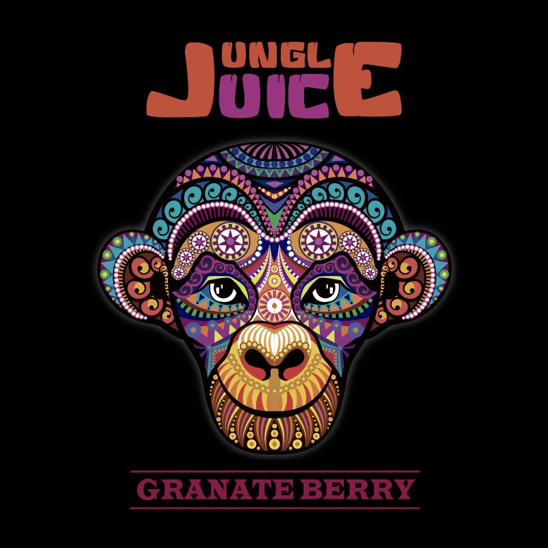 30 ml Jungle Juice - Granate Berry 0 mg/ml