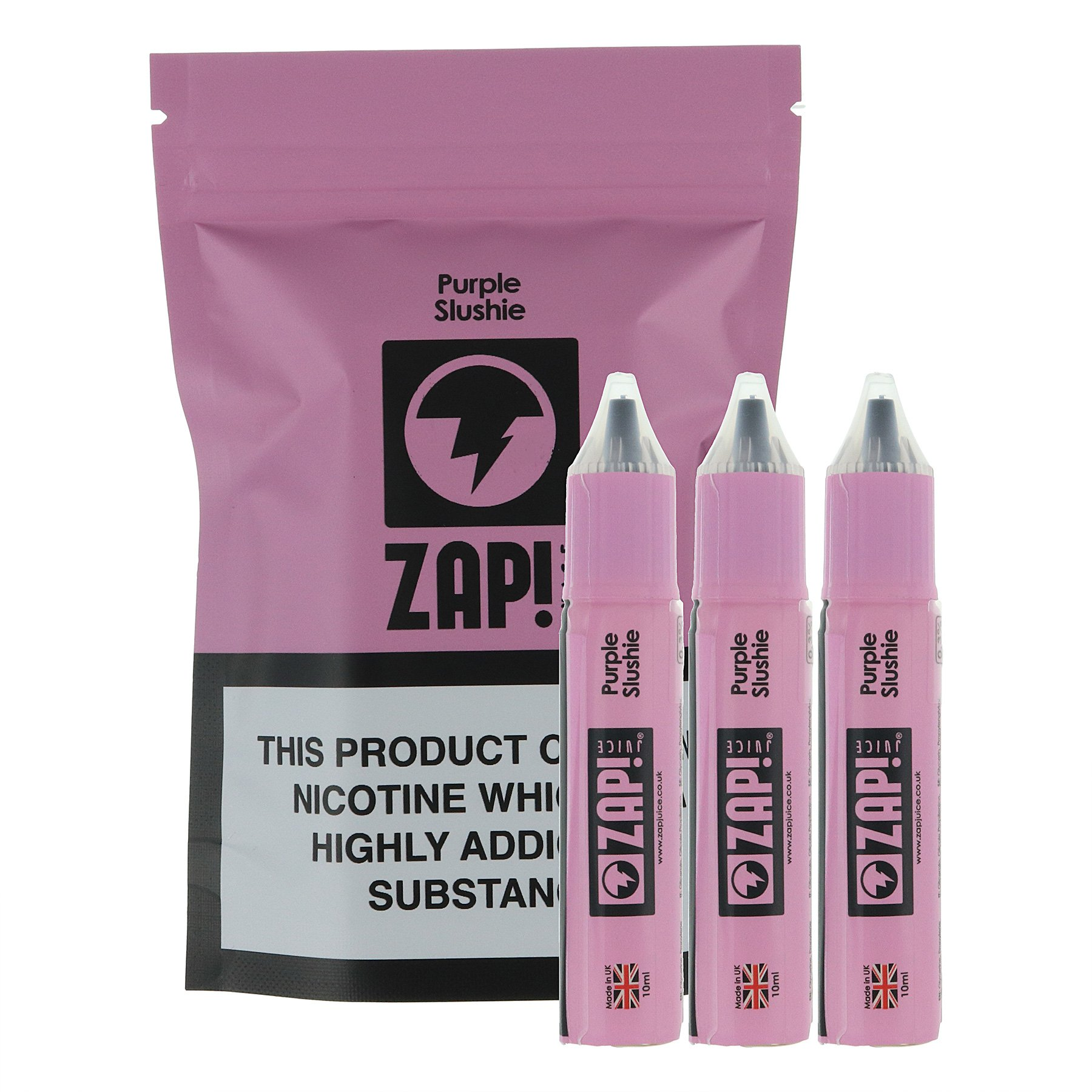10 ml ZAP! Juice - Purple Slushie 3 mg/ml