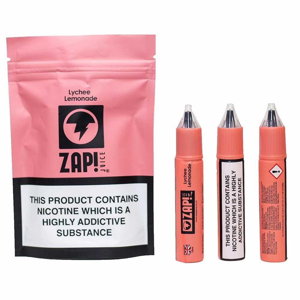 10 ml ZAP! Juice - Lychee Lemonade 3 mg/ml