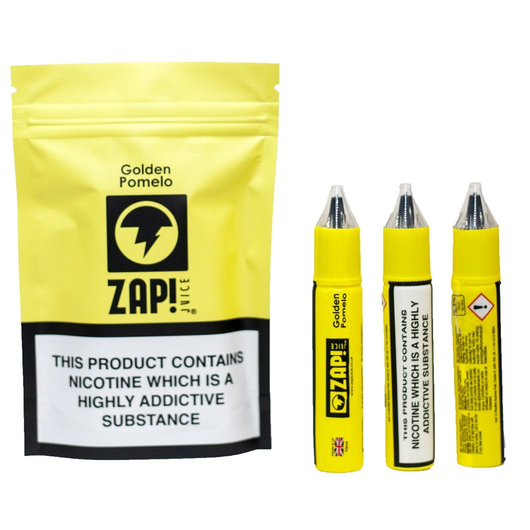 10 ml ZAP! Juice - Golden Pomelo 3 mg/ml