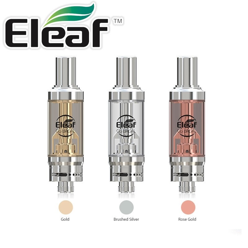 Eleaf GS BASAL Atomizer 1,8ml - Brushed Silver