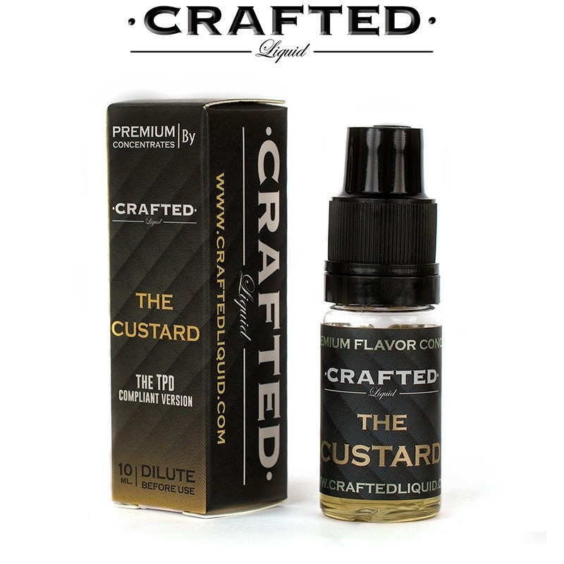 10 ml Crafted - The Custard