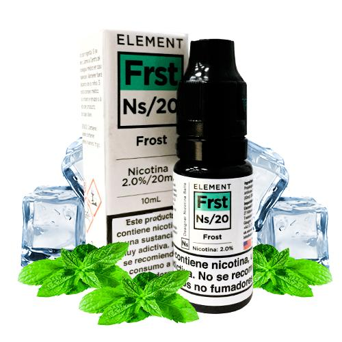 10 ml Element Nic. Salts - Frost  20 mg/ml